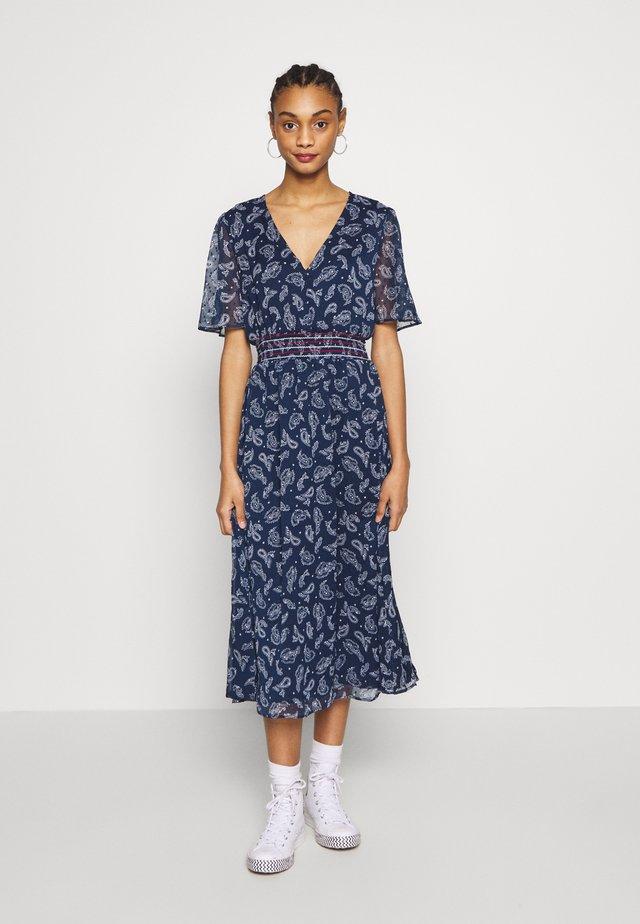 OPEN BACK DRESS - Korte jurk - twilight navy