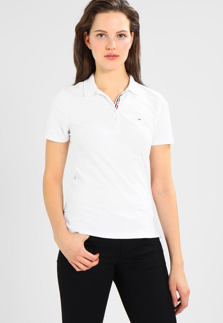 Tommy Jeans - ORIGINAL BASIC - Poloshirt - classic white