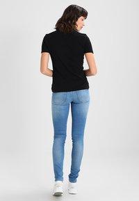 Tommy Jeans - Print T-shirt -  black - 2