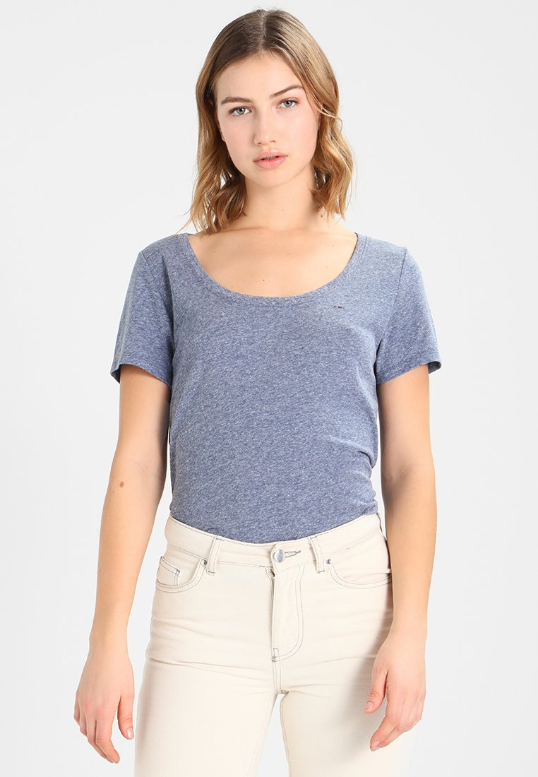 Tommy Jeans - ORIGINAL TRIBLEND TEE - T-Shirt basic - blues
