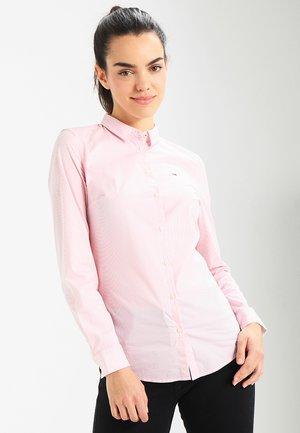 ORIGINAL STRIPE STRETCH - Camisa - pink icing/bright white