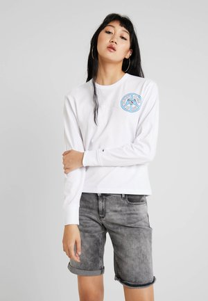 PEACE AND LOVE LONGSLEEVE - Topper langermet - classic white