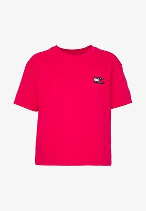 BADGE TEE - T-shirt basic - blush red