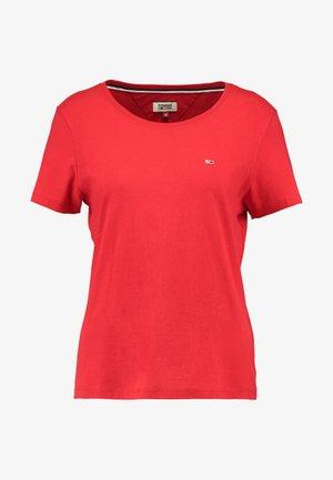 SOFT TEE - T-shirt basique - flame scarlet