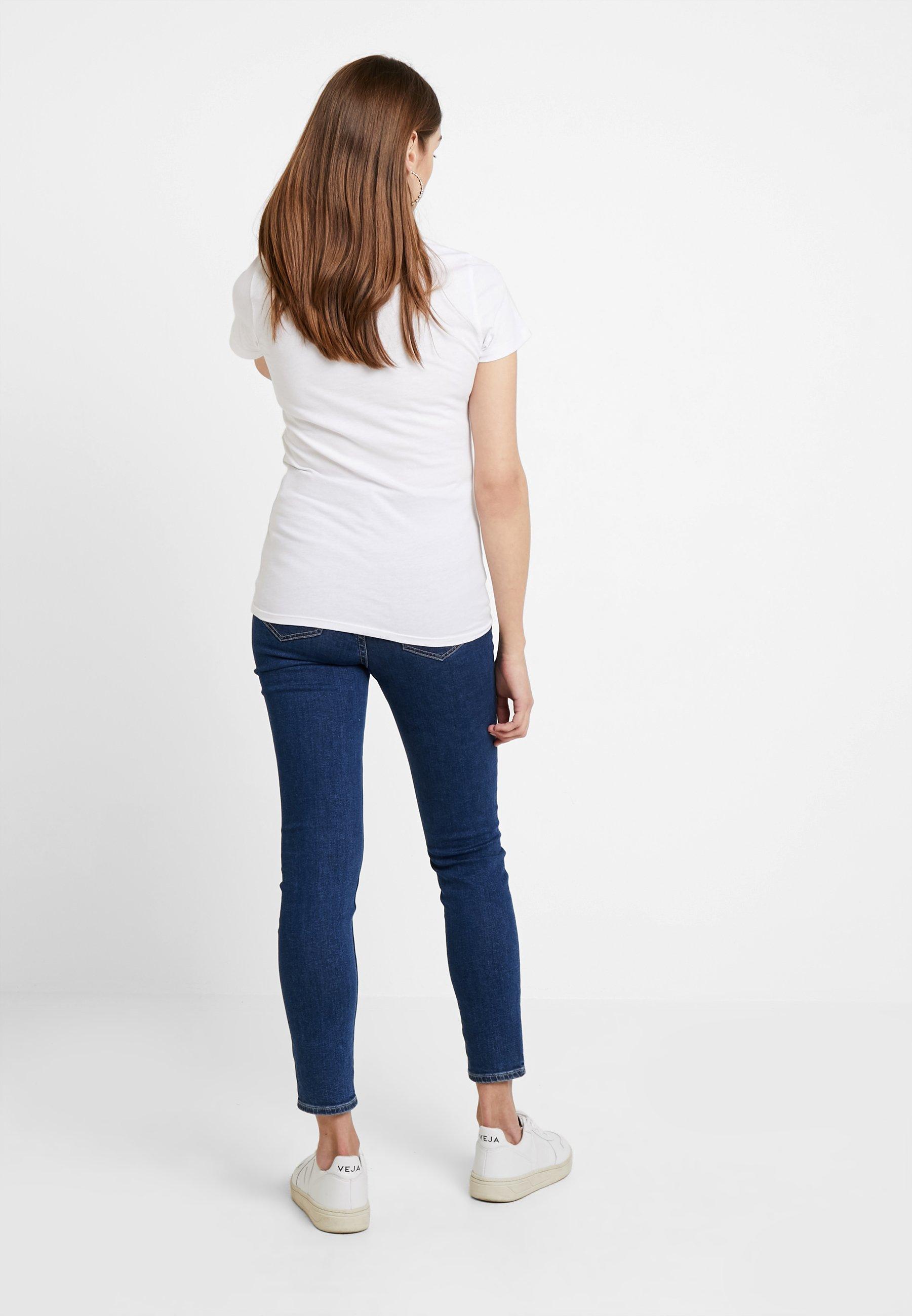 TeeT White Logo Tommy shirt Slim Modern Jeans Basique Classic cLqjS345AR