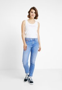 Tommy Jeans - TJW MODERN LOGO TANK - Top - classic white - 1