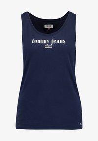 Tommy Jeans - TJW MODERN LOGO TANK - Top - black iris - 3