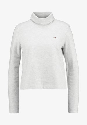 HYBRID LONGSLEEVE - Camiseta de manga larga - pale grey