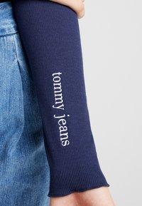 Tommy Jeans - BABYLOCK BODY - Topper langermet - black iris - 5