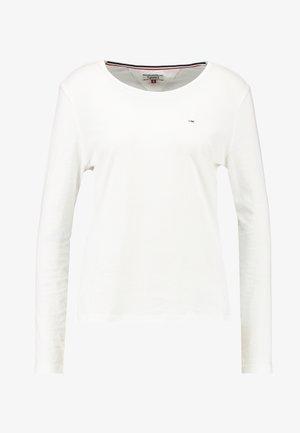TJW SOFT JERSEY LONGSLEEVE - T-shirt à manches longues - classic white