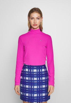 MOCK NECK LONGSLEEVE - Long sleeved top - pink glo