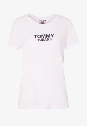 CORP HEART LOGO TEE - T-shirt print - classic white