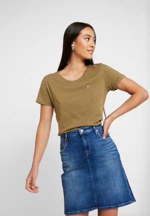 SOFT TEE - T-shirt basique - martini olive