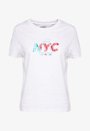 NYC TEE - Camiseta estampada - white