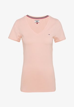 SHORTSLEEVE STRETCH TEE - T-shirt basic - sweet peach