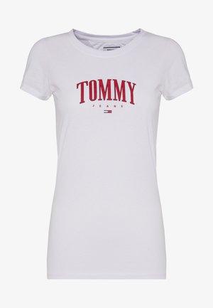 SCRIPT  - T-shirt z nadrukiem - white