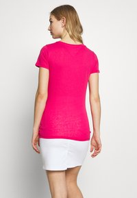 Tommy Jeans - SCRIPT  - T-shirts med print - blush red - 2