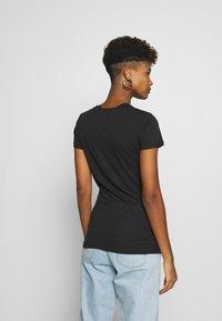 Tommy Jeans - SCRIPT  - T-shirt imprimé - black - 2