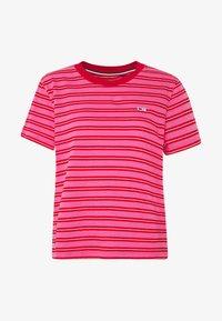 Tommy Jeans - CLASSICS STRIPE TEE - T-shirt imprimé - pink daisy/multi - 3