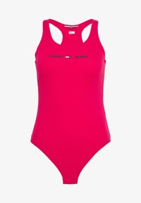 Tommy Jeans - STRAP BODYSUIT - Top - blush red - 4