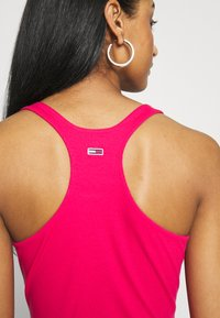 Tommy Jeans - STRAP BODYSUIT - Top - blush red - 5