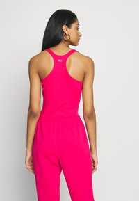 Tommy Jeans - STRAP BODYSUIT - Top - blush red - 2