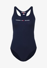 Tommy Jeans - STRAP BODYSUIT - Top - twilight navy - 4