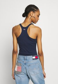 Tommy Jeans - STRAP BODYSUIT - Top - twilight navy - 2