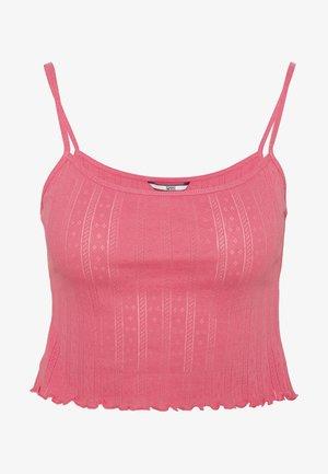 BABYLOCK DETAIL TANK - Top - glamour pink