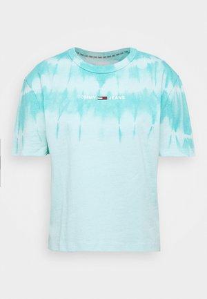 SUMMER TIE DYE TEE - T-shirt imprimé - light chlorine blue