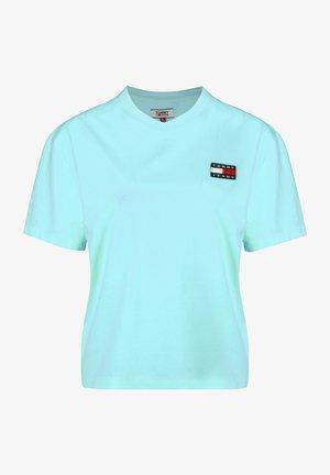 TOMMY JEANS T-SHIRT TOMMY BADGE W - T-shirt print - fresh aqua