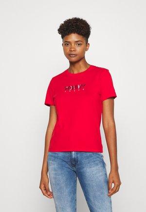 LOGO - Camiseta estampada - red