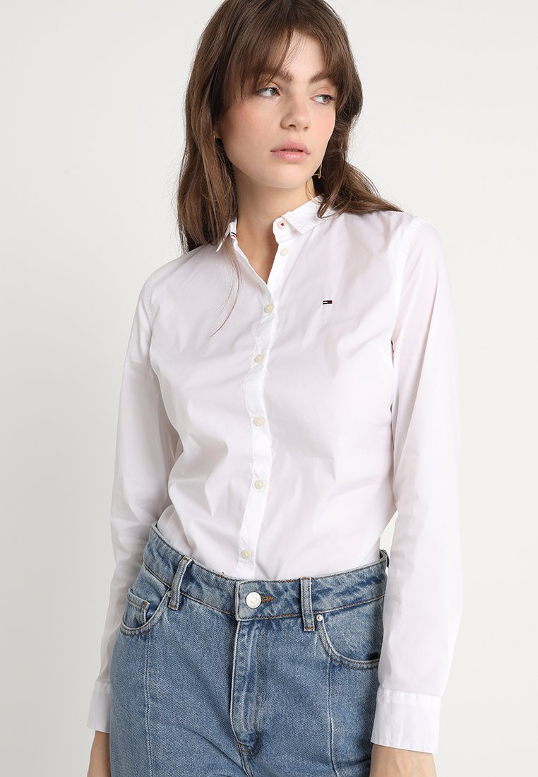 Tommy Jeans - ORIGINAL - Button-down blouse - classic white