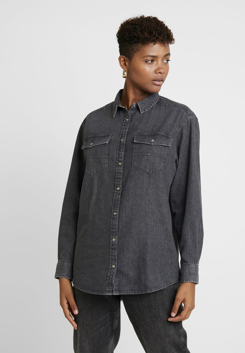 Tommy Jeans - Chemisier - mission washed black