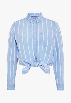 Hemdbluse - white/moderate blue