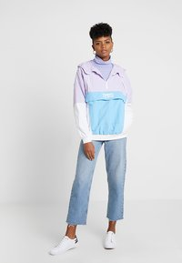 Tommy Jeans - RETRO COLORBLOCK POPOVER - Chaquetas bomber - pastel lilac/multi - 1
