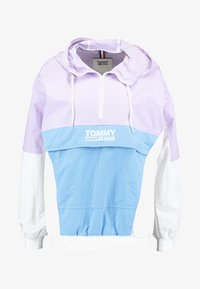 Tommy Jeans - RETRO COLORBLOCK POPOVER - Chaquetas bomber - pastel lilac/multi - 4