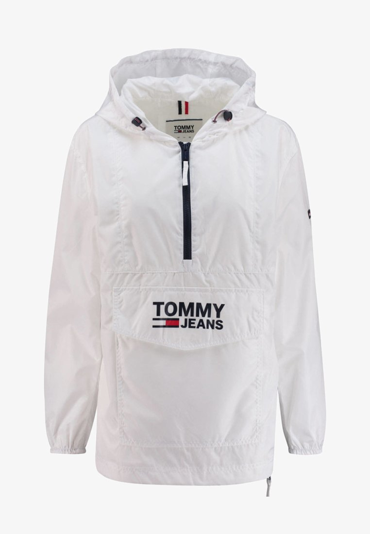 Tommy Jeans - POPOVER ANORAK - Windjack - white