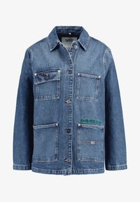 Tommy Jeans - WORKWEAR JACKET - Chaqueta vaquera - save mid blue - 4