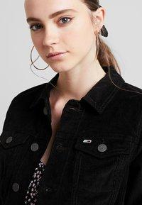 Tommy Jeans - SLIM TRUCKER VIVIAN - Summer jacket -  black - 4