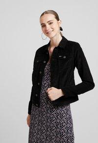 Tommy Jeans - SLIM TRUCKER VIVIAN - Summer jacket -  black - 0