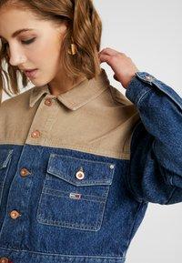 Tommy Jeans - CROPPED TRUCKER  - Denim jacket - blue denim - 5