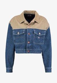 Tommy Jeans - CROPPED TRUCKER  - Denim jacket - blue denim - 4