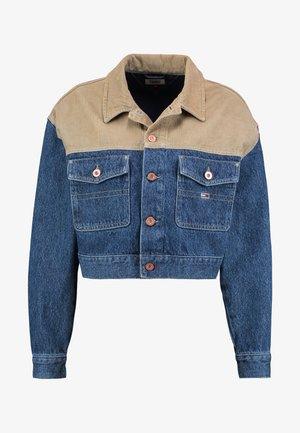 CROPPED TRUCKER  - Giacca di jeans - blue denim