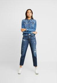 Tommy Jeans - SLIM TRUCKER VIVIAN - Denim jacket - blue denim - 1