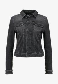 Tommy Jeans - SLIM TRUCKER VIVIAN - Veste en jean - pop black com - 5