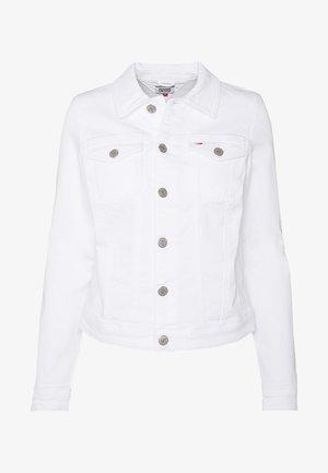 SLIM TRUCKERJACKET - Jeansjakke - candle white