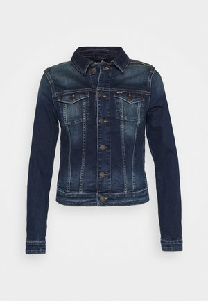 VIVIANNE SLIM TRUCKER BXDBS - Denim jacket - box dark blue stretch