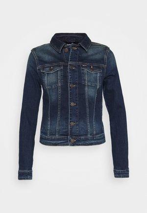 VIVIANNE SLIM TRUCKER BXDBS - Veste en jean - box dark blue stretch