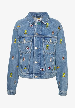 TJW LOONEY TUNES  - Cowboyjakker - light blue wash